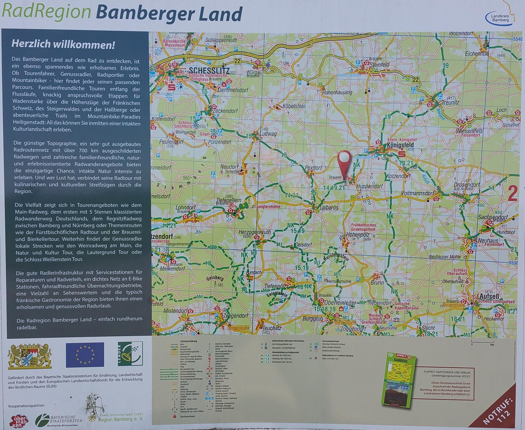 Saale Radweg Karte Pdf.Thema